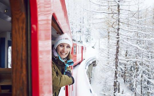 Chamonix Mont Blanc guidata escursione di un giorno con il treno di montagna