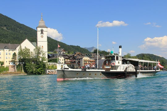 Salt mines, lakes, and mountains combination tour from Salzburg
