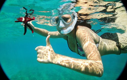 Boat snorkeling tour from Chania