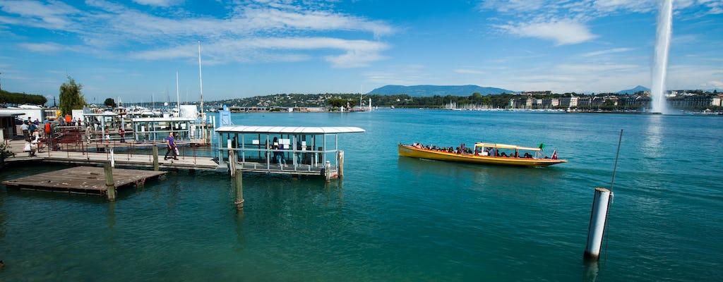 Chamonix and Geneva city tour with boat cruise