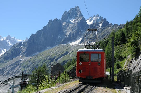 Chamonix Mont Blanc day trip with cable car and mountain train