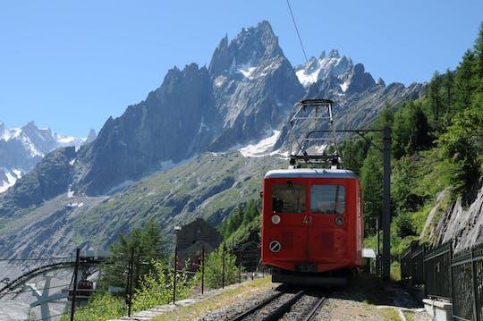 Chamonix Mont Blanc jednodniowa wycieczka kolejką linową i górskim pociągiem