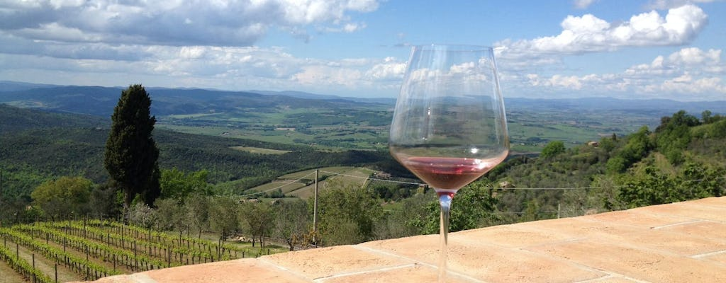 Organic Brunello wine tour in Montalcino with lunch