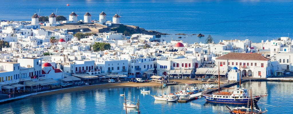 Day Cruise from Paros to Mykonos