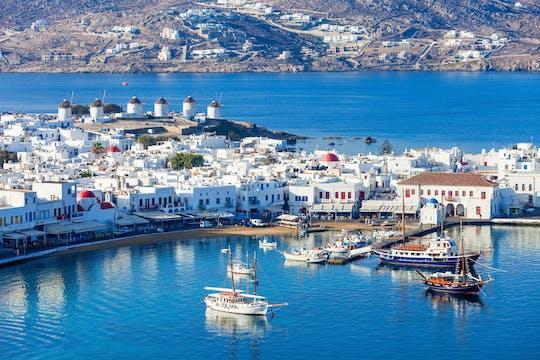 Crucero de un día desde Paros a Mykonos
