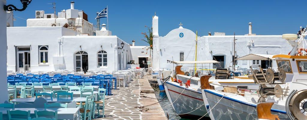 Cruzeiro diurno de Paros a Delos e Mykonos