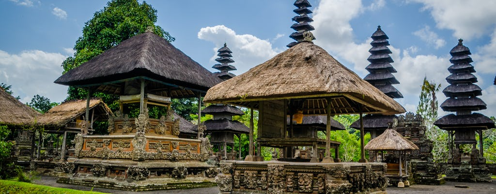 Tour of the three temples of Bali