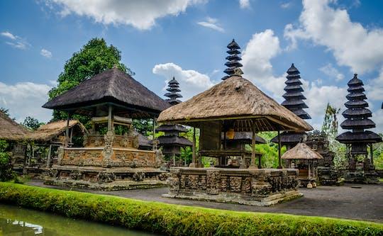 Tour dei tre templi di Bali