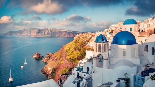 Cruzeiro de Dia de Paros a Santorini