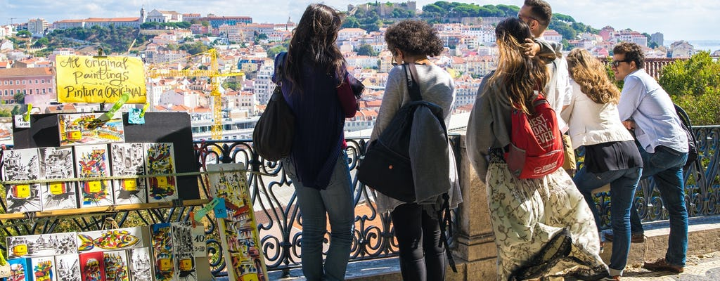 Historical and trendy walk tour in Lisbon