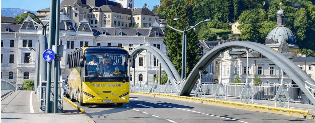 One or two day Hop-on Hop-off Salzburg city tour bus
