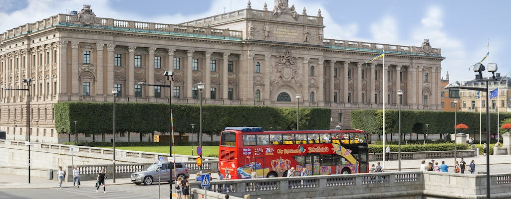 City Sightseeing Hop-on-Hop-off-Bustour durch Stockholm