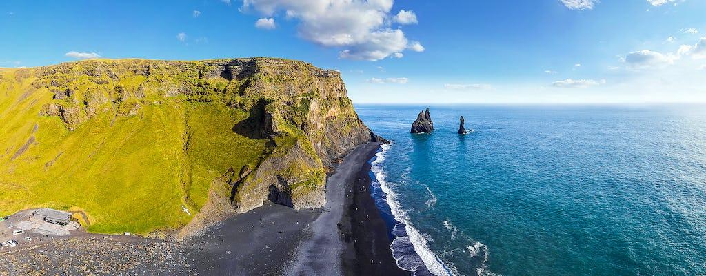 Jednodniowa wycieczka z Reykjaviku na południe Islandii z wodospadami i czarną plażą