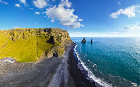 Excursion d'une journée dans le sud de l'Islande, aux cascades et sur la plage de sable noir au départ de Reykjavík
