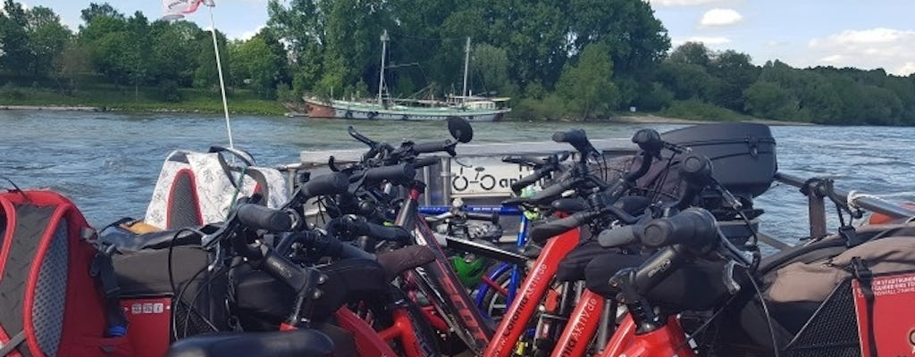 Guided bike tour through the Cologne Riviera