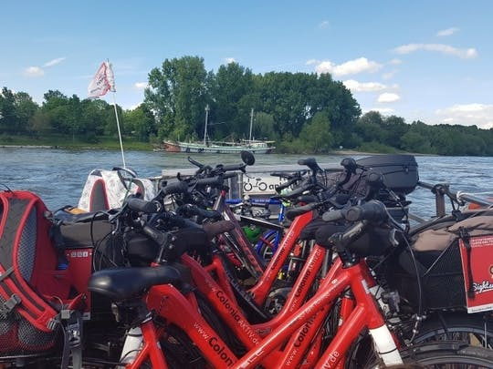 """Geführte Fahrradtour für Gruppen """"Kölsche Riviera"""""""
