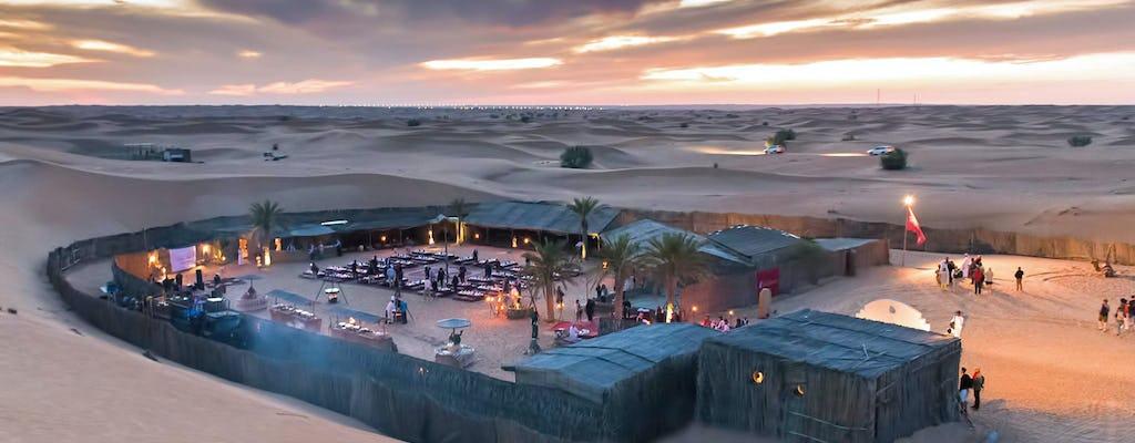 Excursion en 4x4 avec dîner dans le désert d'Abu Dhabi
