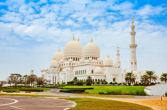 Sheikh Zayed Mosque, Qasr Al Watan Palace and Etihad Towers day tour from Abu Dhabi