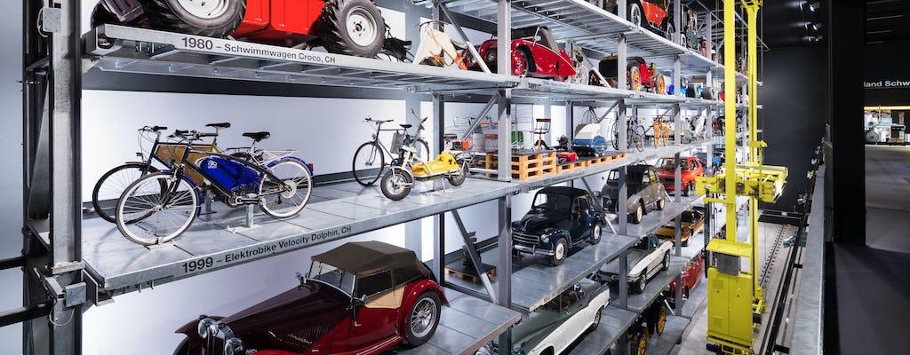 Entrada al Museo Suizo de Transporte de Lucerna