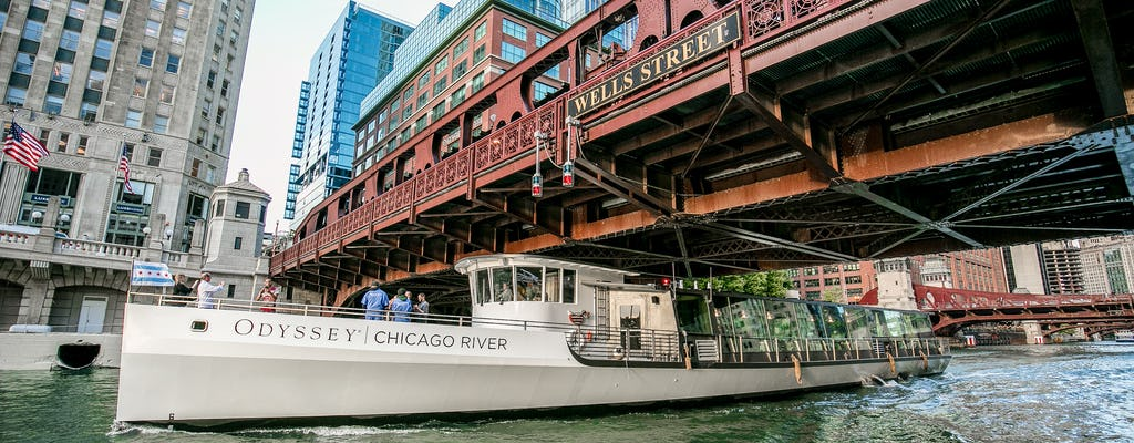 Premium Chicago River Architectural Brunch on the Odyssey
