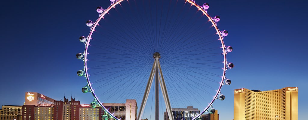 The High Roller Observation Wheel presso The LINQ biglietti
