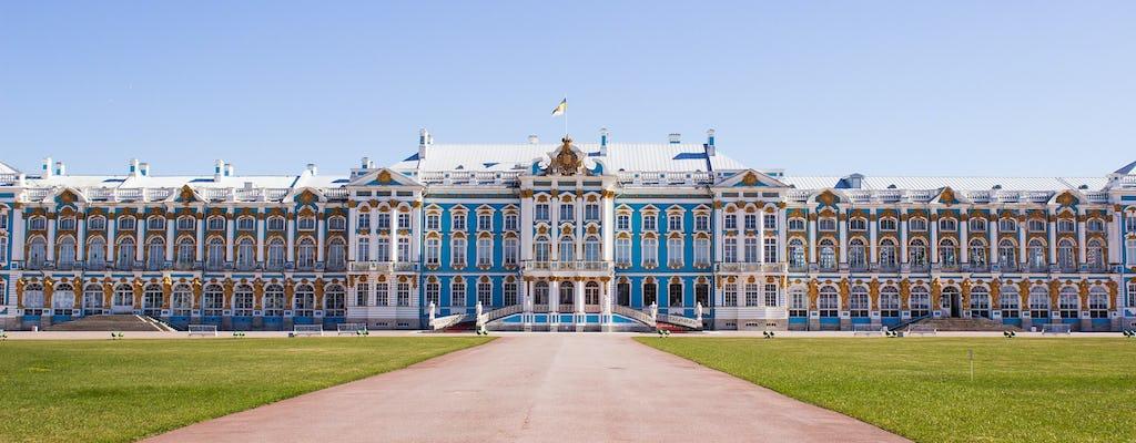 Tour of Catherine Palace and Peterhof Gardens