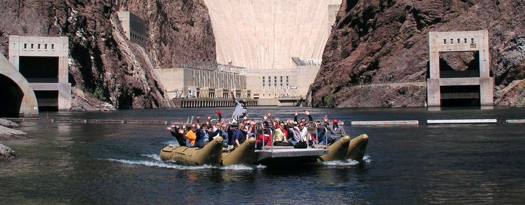 Grand Celebration with Black Canyon rafting from Grand Canyon West