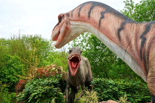 Trip to the Dinosaur Park and Crete's Aquarium from Chania