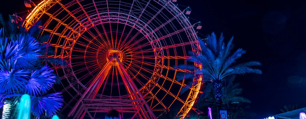 The Wheel at ICON Park Orlando general admission and combo tickets