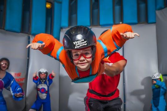 10-minutowy lot w Vegas Indoor Skydiving