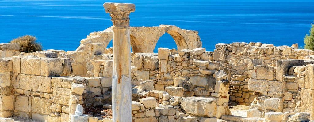 Tour of West of Cyprus z Limassol i Pissouri