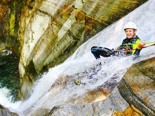 Privater Canyoninguide im Tessin