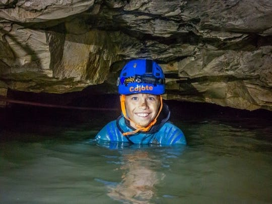 Falkensteiner Höhlentour für Einsteiger