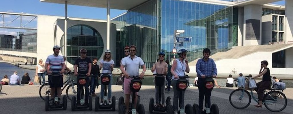 Berlin self-balancing scooter sightseeing premium tour from Hilton hotel