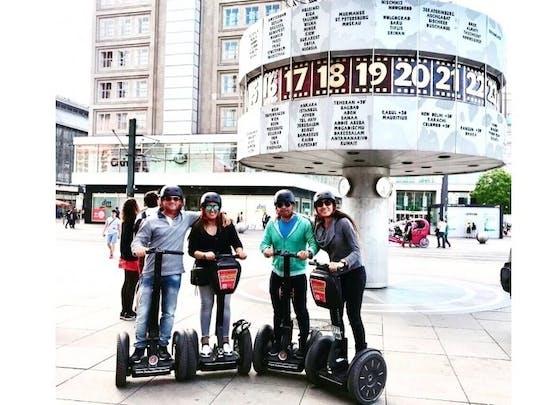 Recorrido por Berlín en un scooter auto-balanceado