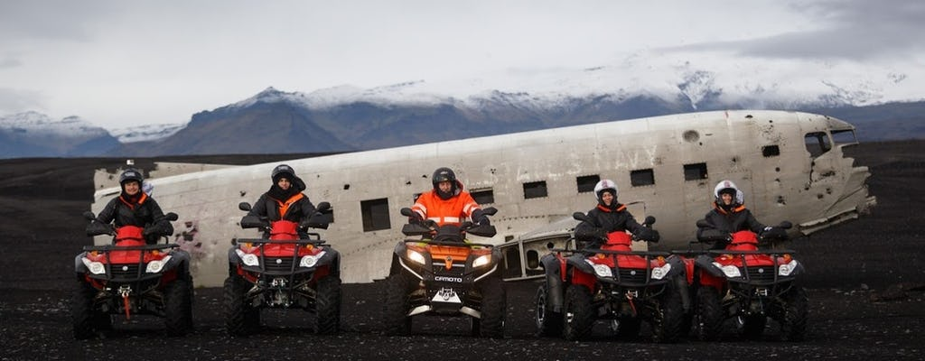 Passeio de quadriciclo no sul da Islândia a partir de Reykjavík