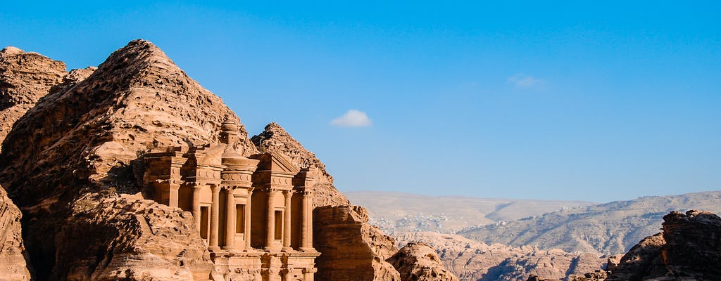 Transferência privada de Aqaba para Petra