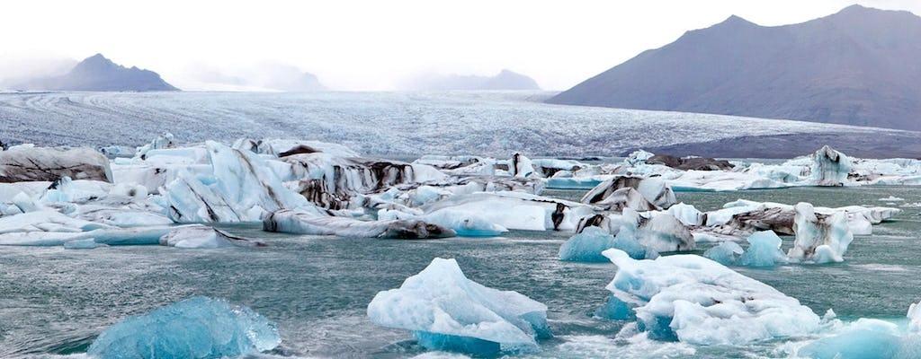 Laguna lodowcowa Jökulsárlón z opcjonalnym rejsem łodzią