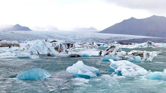 Lago Glacial Jökulsárlón com tour opcional de barco