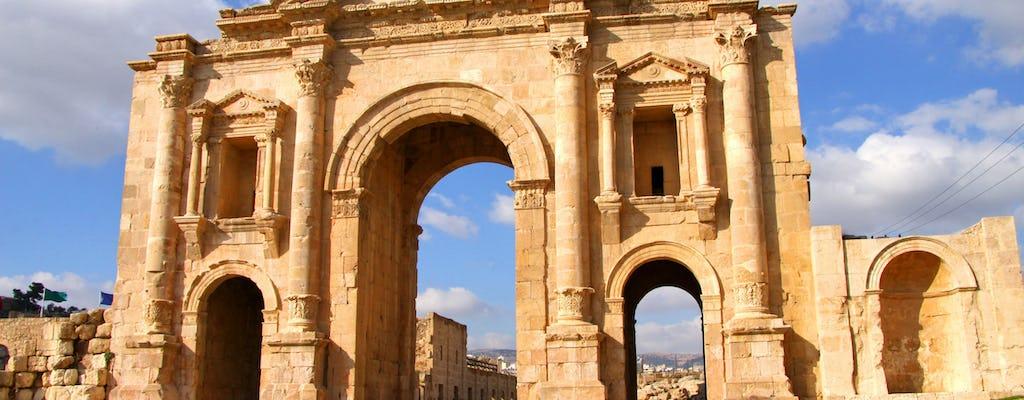 Prywatny transfer z Ammanu do Jerash i Ajloun