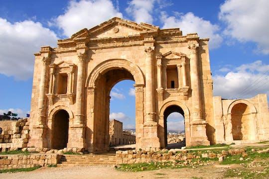 Visite privée d'une journée de Jerash et Ajloun au départ d'Amman
