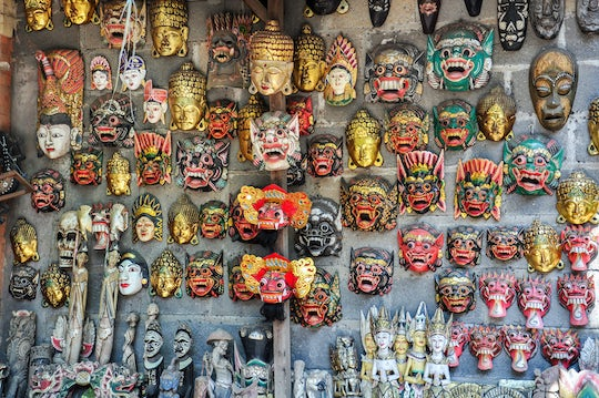 Tour of the House of Mask and Puppets in Bali