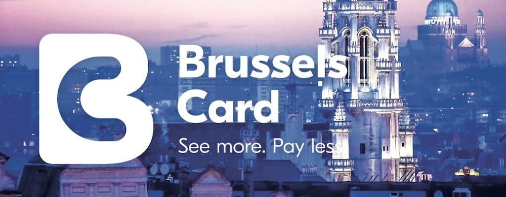 Brussels City Card na 24, 48 lub 72 godzinny z dostępem do komunikacji miejskiej, autobusów Hop-On Hop-Off lub Atomium