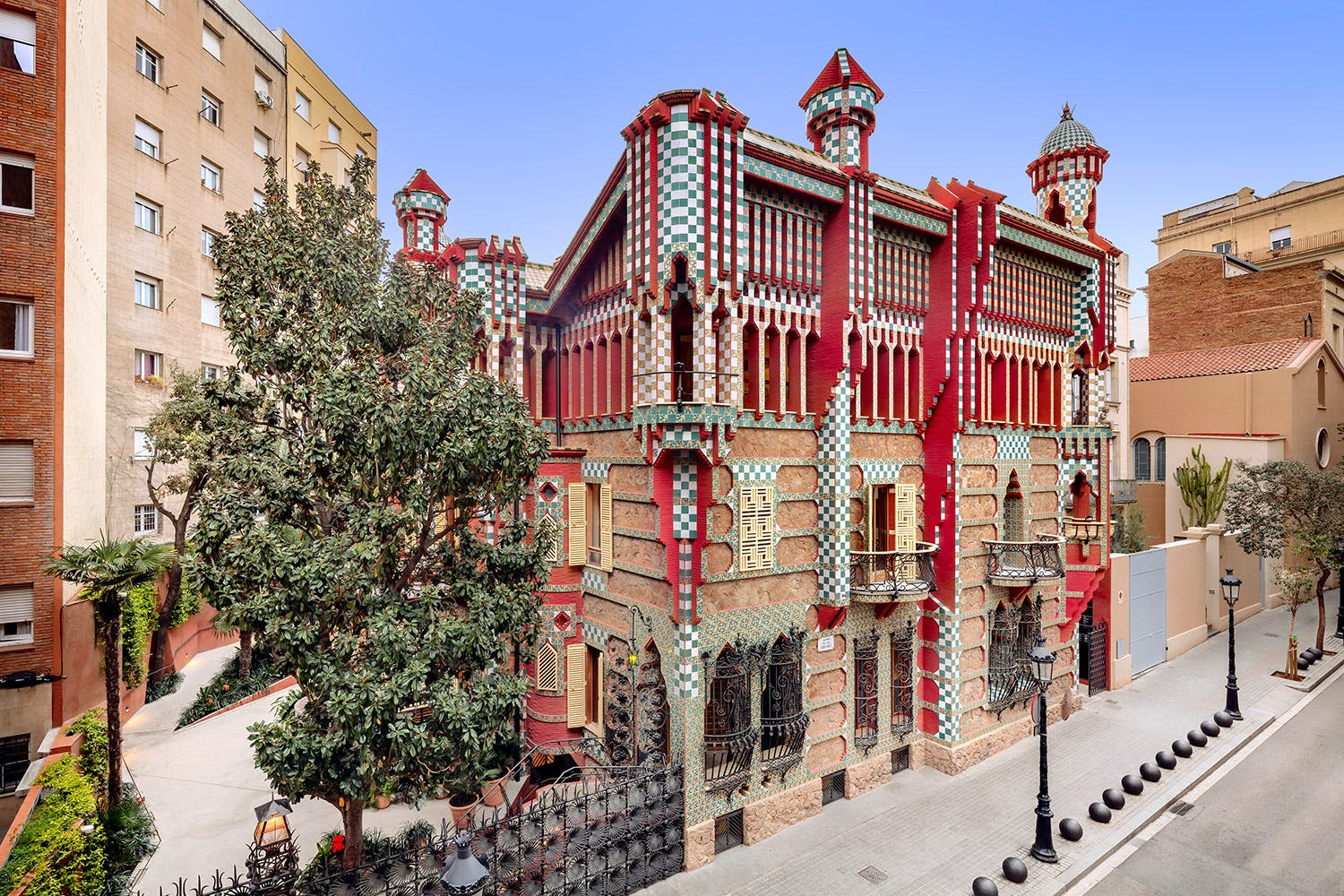 Gaudí Casa Vicens skip-the-line tickets