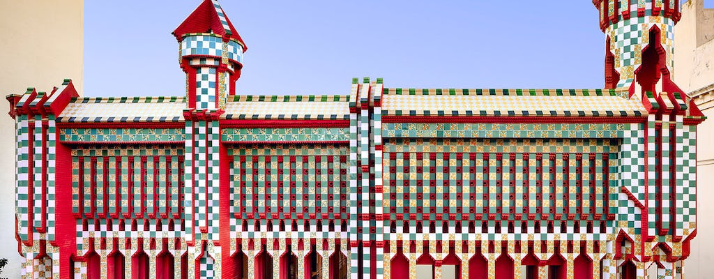 Casa Vicens skip-the-line tickets and guided visit in small groups