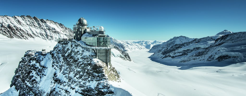 Jungfraujoch top of Europe from Interlaken