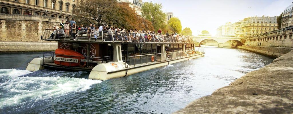 Crociera turistica dalla Torre Eiffel