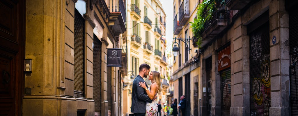 Barcelona professional photo shoot experience