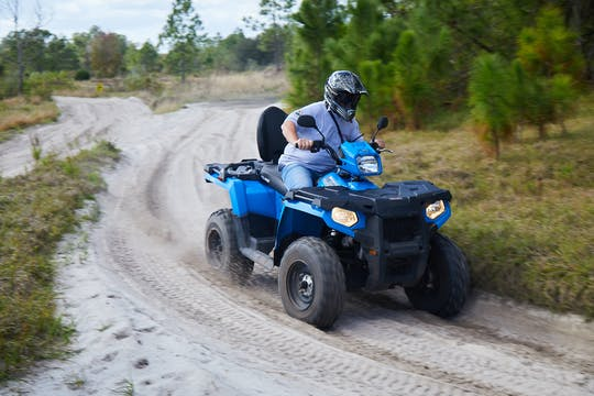 Experiência de motorista único ATV