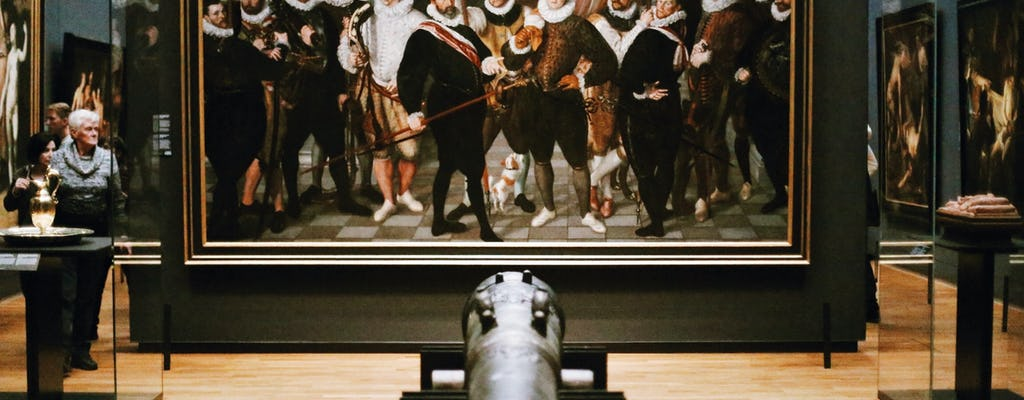 Rijksmuseum and Rembrandt's city and home guided tour